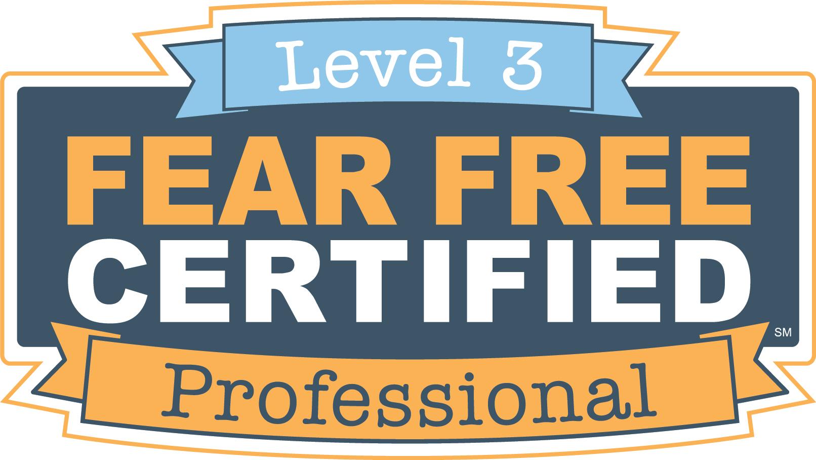Fear Free Level 3