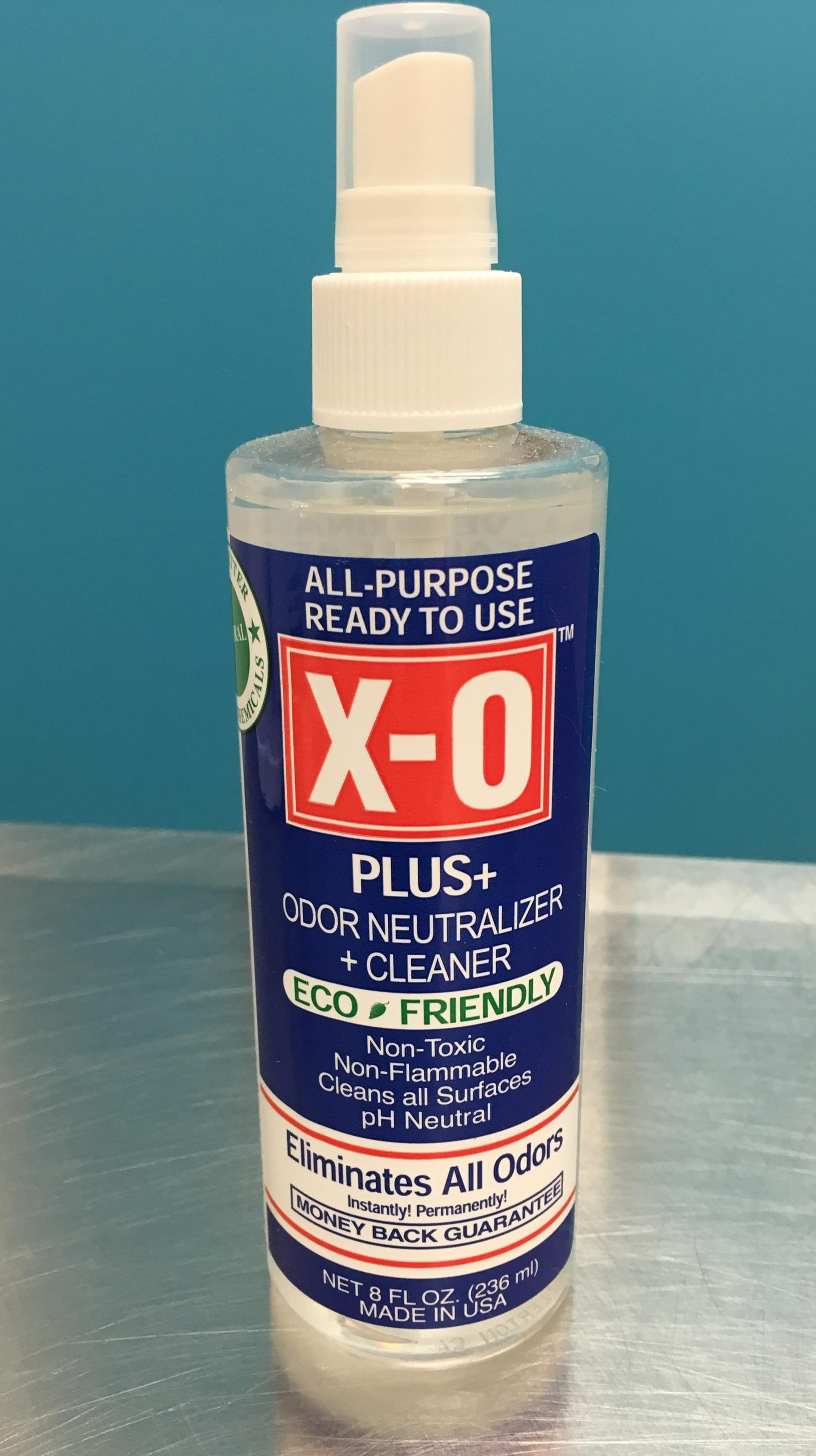 Eco-friendly stain and odor remover.