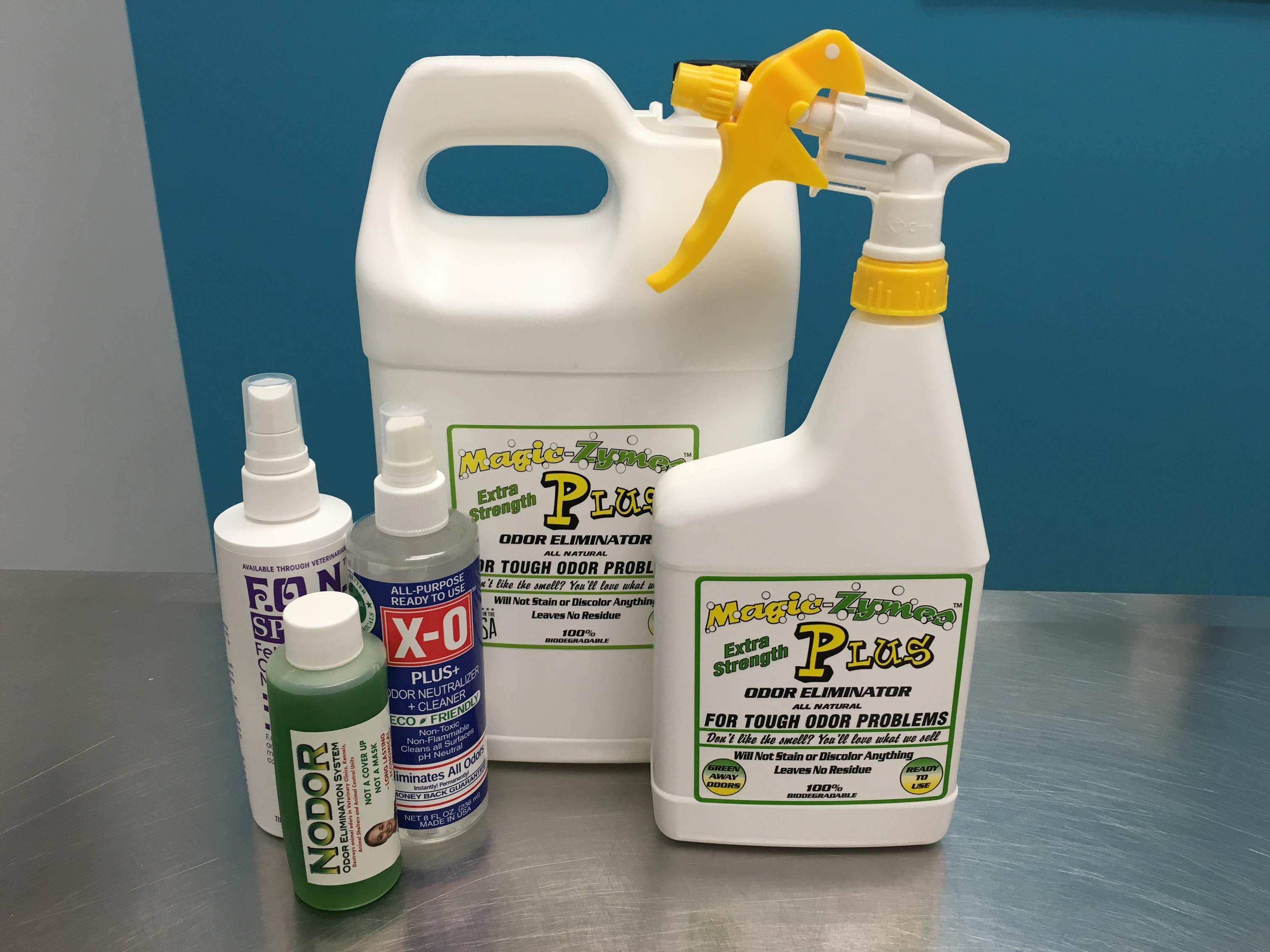 Our entire collection of  enzyme cleaners & odor eliminators.