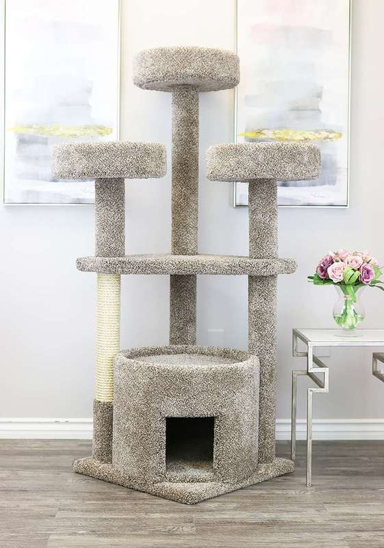 Huge variety of cats trees available here.