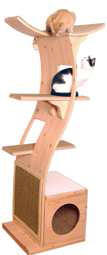 Contemporary cat furniture for the fashionable feline!